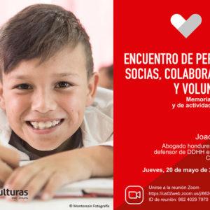 Entreculturas A Coruña celebra su Encuentro Anual de Personas Socias, Colaboradoras y Voluntarias