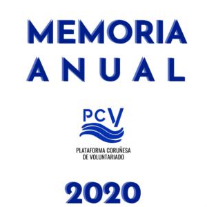 La PCV publica la Memoria 2020