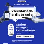 Charla sobre voluntariado a distancia 28 de septiembre
