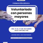 Formación básica: Voluntariado con personas mayores